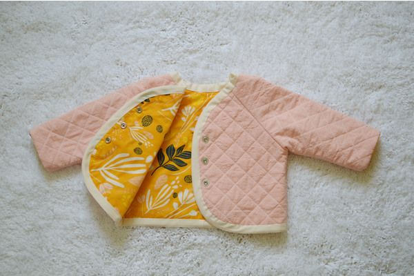 Quilted Lullaby Layette jacket