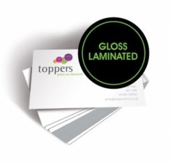 #Business_Cards Gloss Laminated :-  > Printed on smooth 400 silk gloss laminated > Full Colour to either one or two sides > Credit card size (85 x 55)