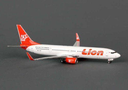 Phoenix Lion Air 737-900ER 1/400 Red Tail 50TH