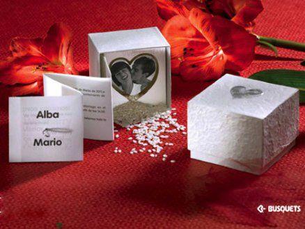 Invitación de boda - BUS ESPECIAL CUORE B15340