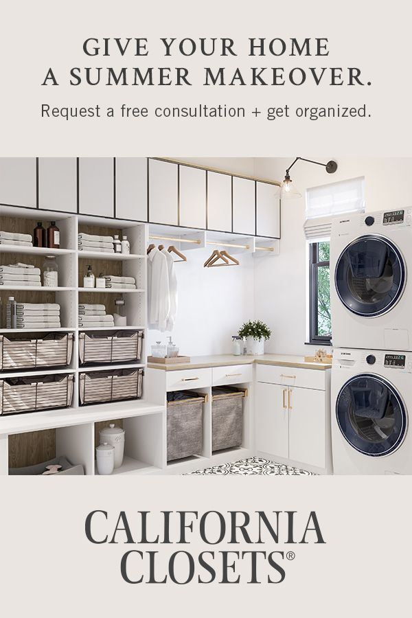 Give Your Home A Summer Makeover Request A Free Consultation Get Organized Laundry Room Remodel Laundry Room Layouts Mudroom Laundry Room