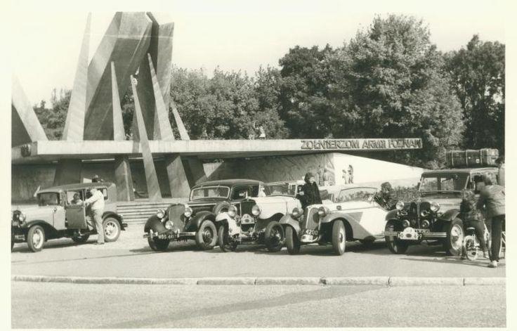 1986 Poznań Międzynarodowy Rajd Samochodów Zabytkowych
