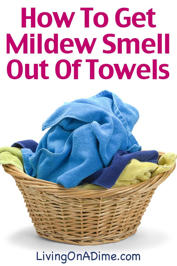 How To Get Musty Mildew Smell Out Of Towels - Click Here For the Easy Way To Get Them Clean Today!