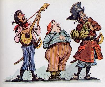 Marc Davis Pirates of Caribbean original artwork. Love his pirates art
