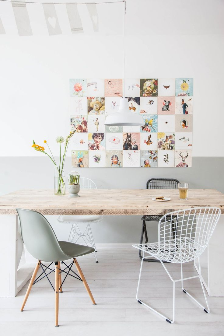 Home Tour: Whimsical Pastels + Family - decor8