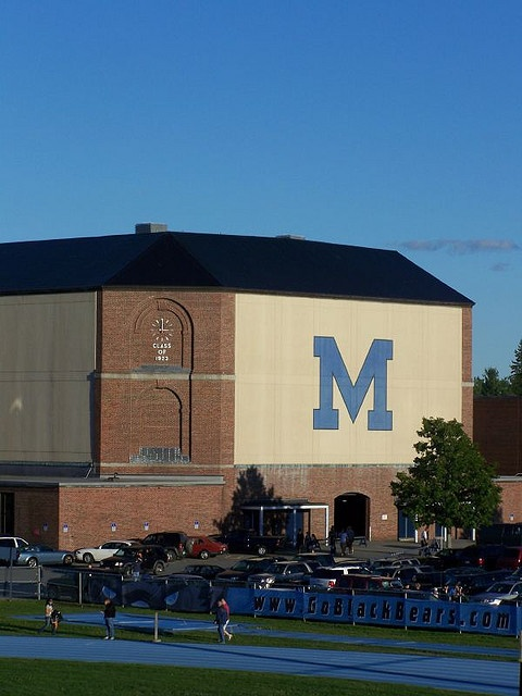 University of Maine, Orono. Need to visit Deanna and Courtney when I'm in America :)