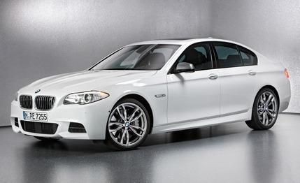 2013 BMW M550d xDrive, not available in US.