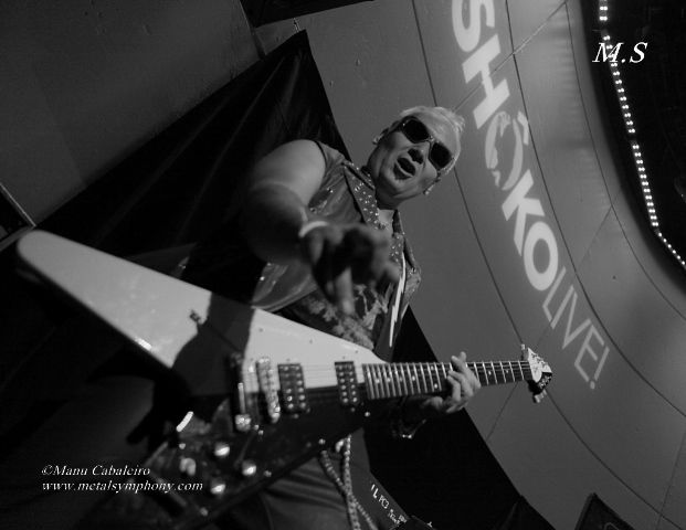 Stingers 3 Uli Jon Roth + Stingers – 30 de Octubre13 – Sala Shôko – Madrid
