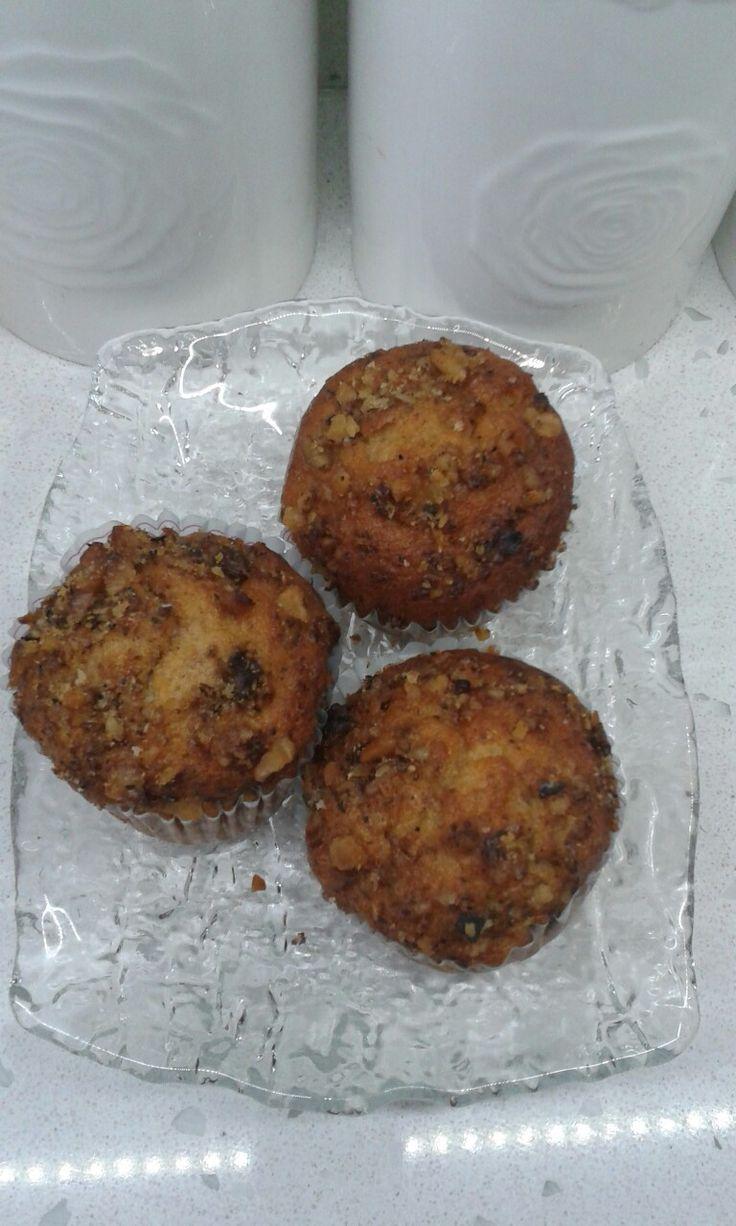 Havuçlu Portakallı muffin
