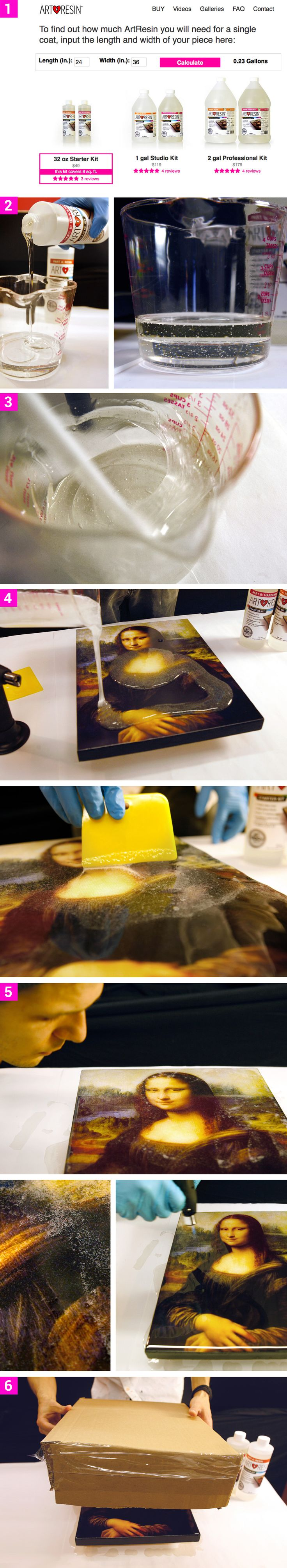 Awesome way to seal wood, Art or any flat surface with beautifull results. https://artresin.refersion.com/c/d3f747