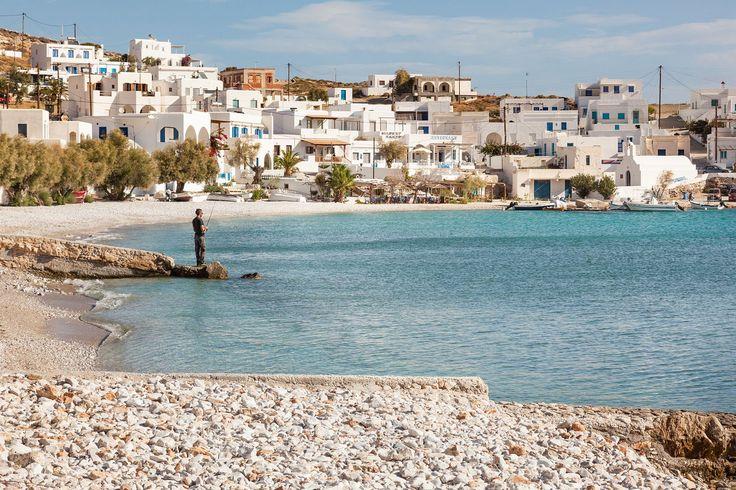Karavostasis Port and Choclidia beach