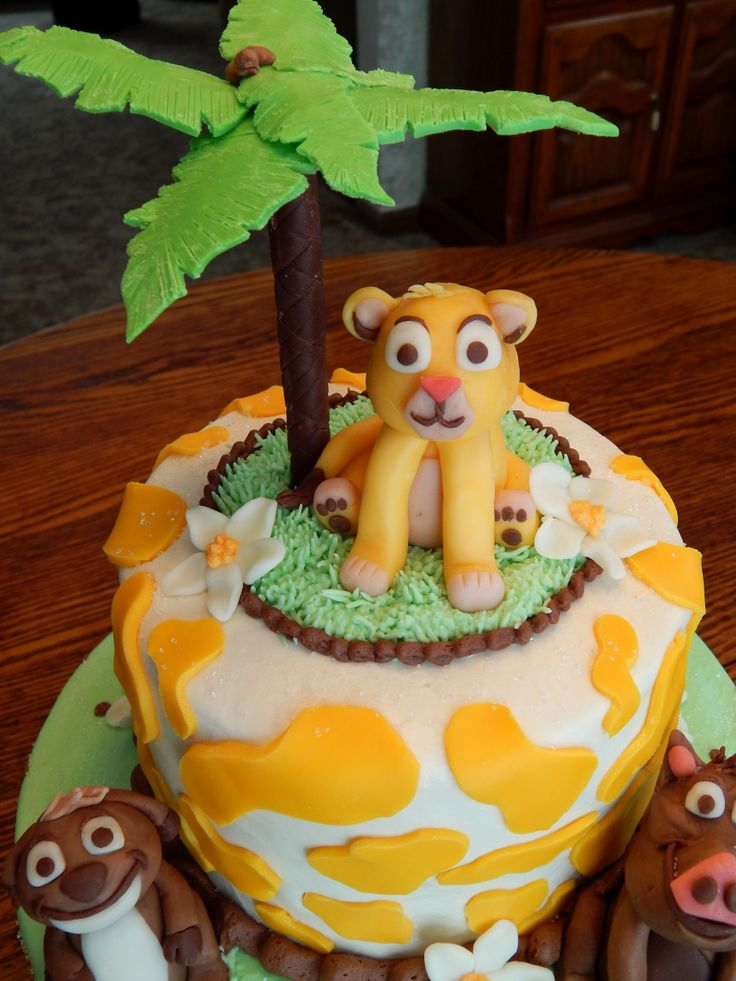 Baby Shower Cakes Kenya ~ Lion king baby shower cake in and layer rounds