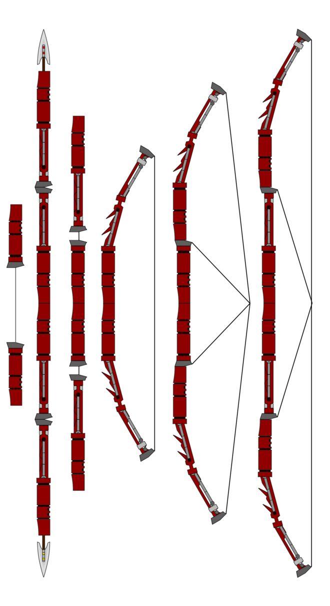 Bow-Staff (And Nun-Chucks) by Blaze-Drag on DeviantArt