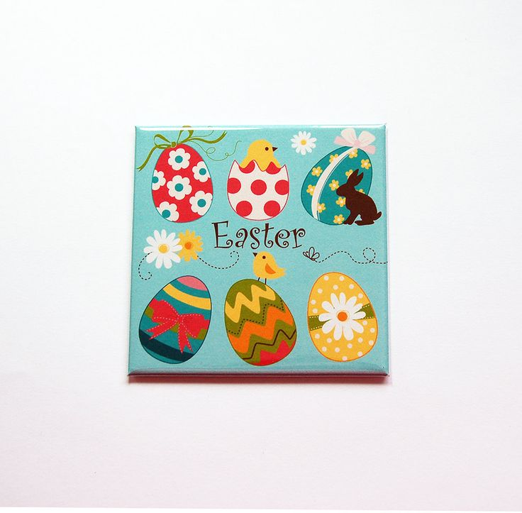 23 best easter images on pinterest easter gift magnets and bunnies easter egg magnet magnet fridge magnet easter eggs easter basket gift negle Images