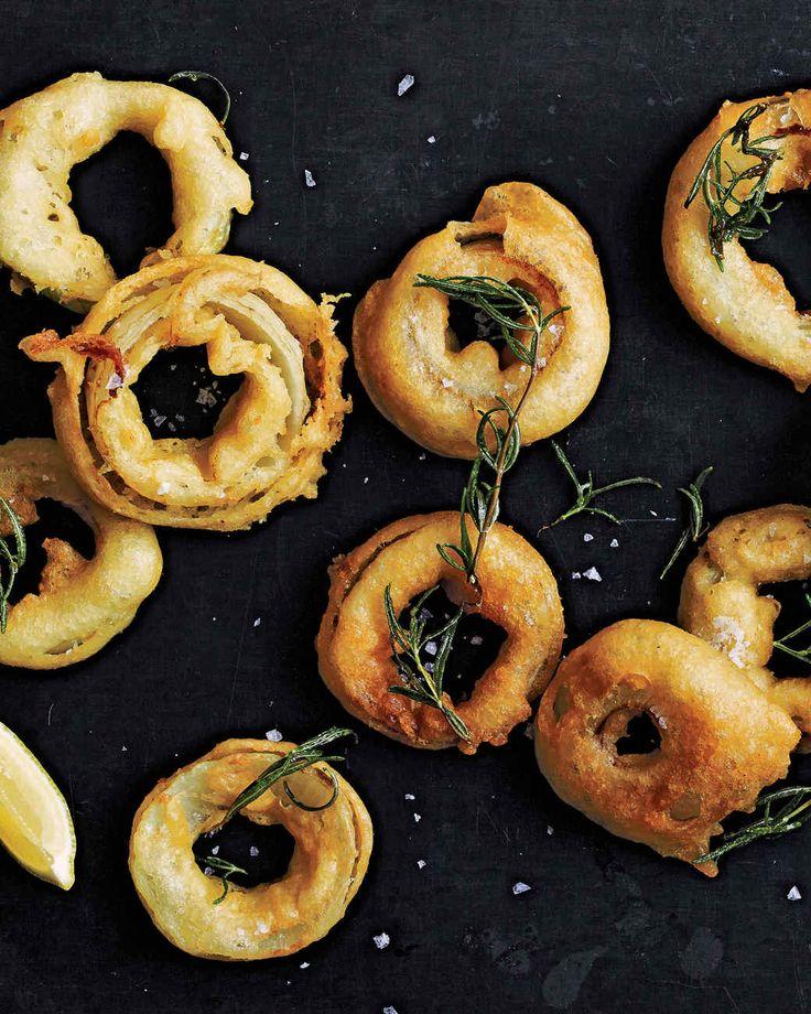 Martha's Favorite Onion Rings Recipe | Martha Stewart