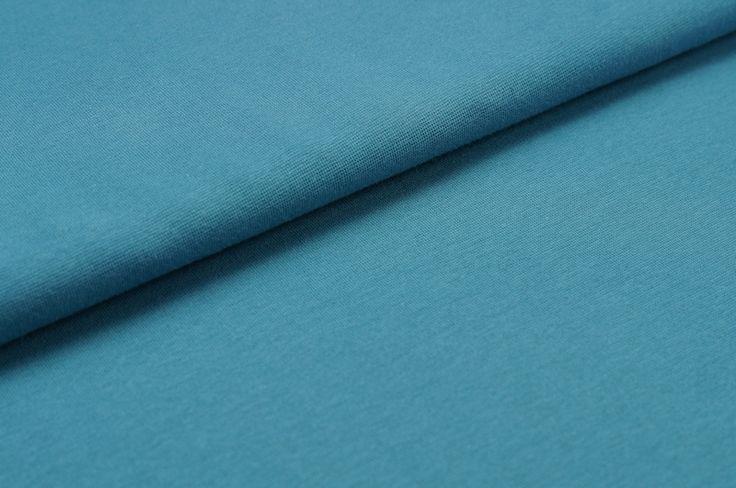 Bündchen Schlauchware glatt taubenblau hell von traumbeere_stoffe auf DaWanda.com