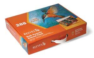 Reeves 288 Soft Pastels (Square) Class Pack