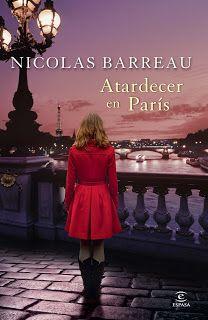 Reseña: Atardecer en París, de  Nicolas Barreau
