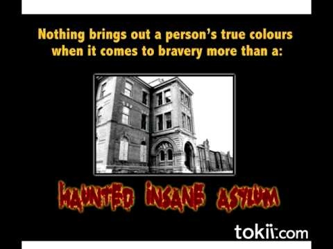 Tokii Date Challenge: To go on a date to Lakeshore Psychiatric (asylum closed in 1979) in Jennifer's hometown of Toronto. What better way to find out how brave your partner is?!