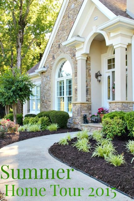 Summer Open House Tour. French country farmhouse mix