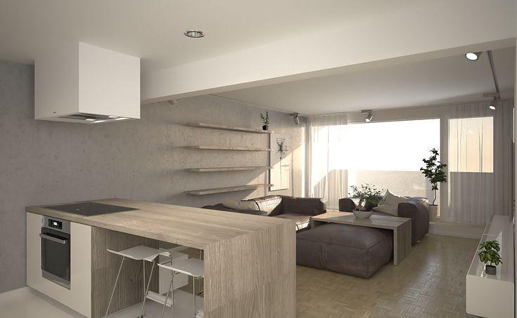 Apartment interior, Helsinki