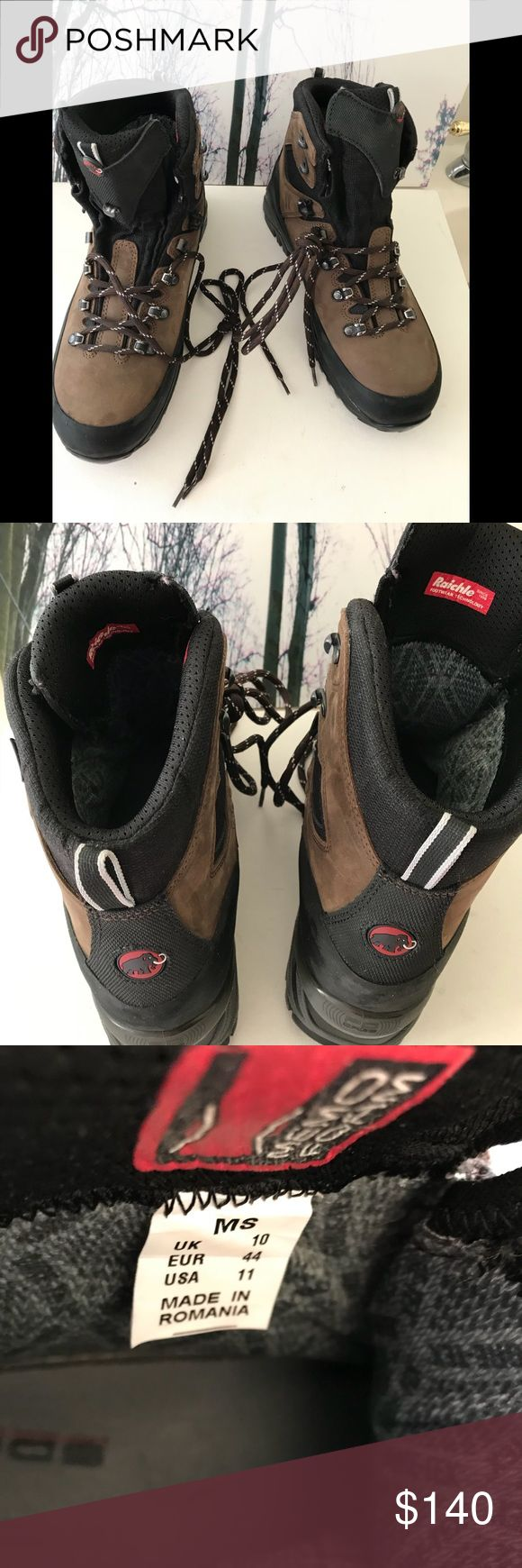 Mammoth Boots NWOT- Mammut Raichle Goryex Boots with Vibram Sole In excellent Condition. New Pair Size:11 Mammut Shoes Boots
