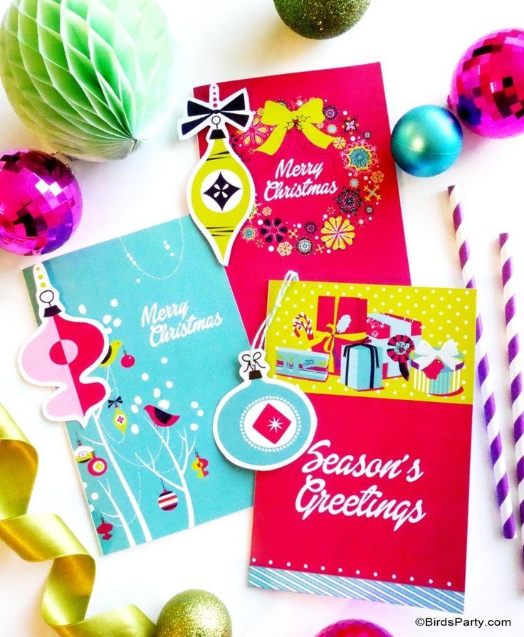 Décoration de Noël DIY et Freebies!