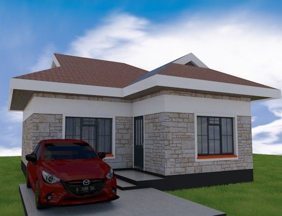 2 Bedroom Superb House Plan Muthurwa Com In 2020 House Construction Plan House Plans House Designs In Kenya