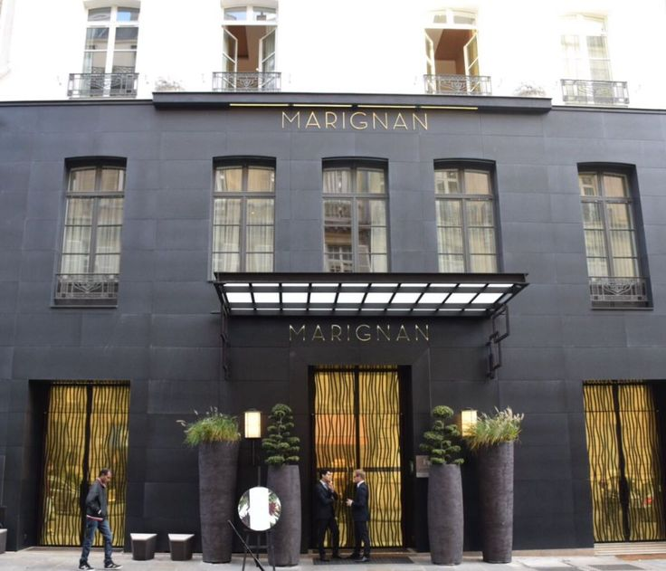 The Hotel Marignan Champs Élysées Paris, France