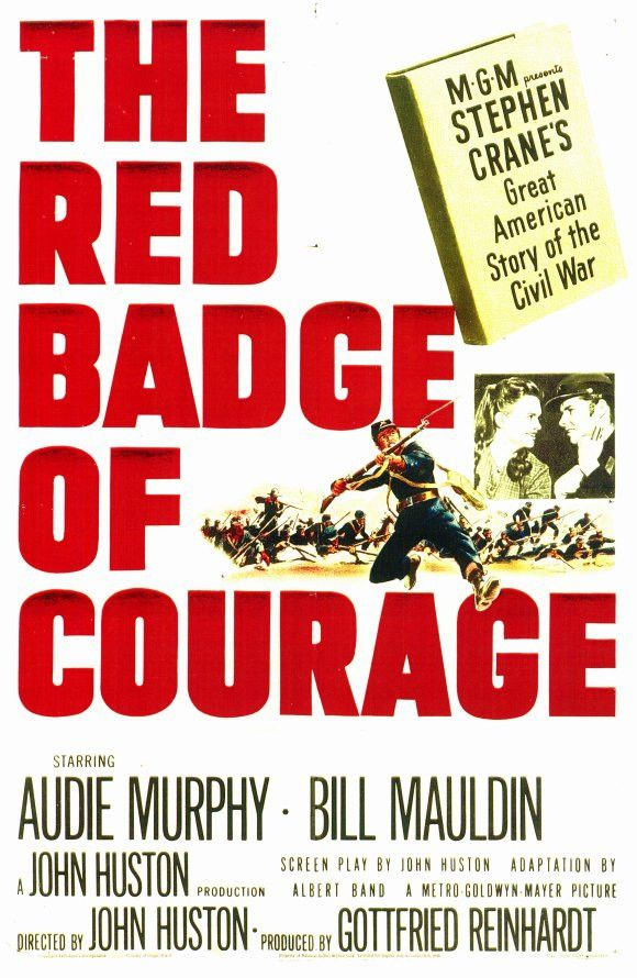 The Red Badge Of Courage 11x17 Movie Poster 1951 John Huston Courage Badge