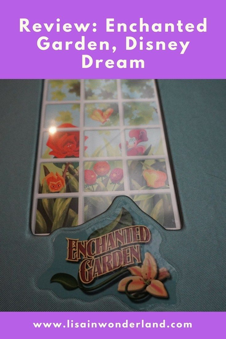 Restaurant Review: Enchanted Garden, Disney Dream | Lisa in Wonderland