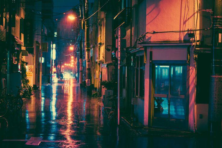 /// Tokyo by Night by Masashi Wakui | Abduzeedo Design Inspiration