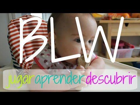 Método BLW (Baby led weaning) - ¿Qué puede comer un bebé de 6 meses? Sus 30 primeros días de sólidos - YouTube