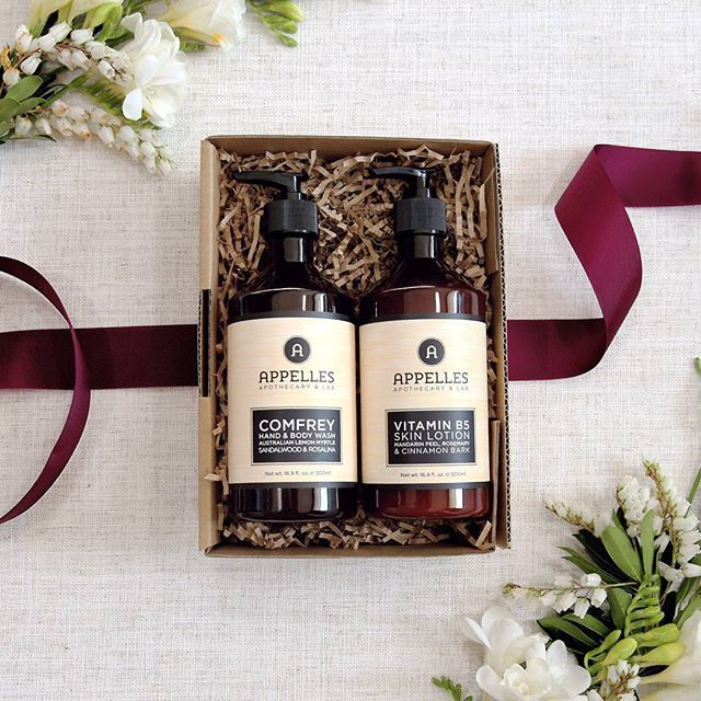 At the top of our wish lists this year? Our bestselling Comfrey and Vitamin B5 Body Care Duo, which gives hydrated and beautifully conditioned skin!