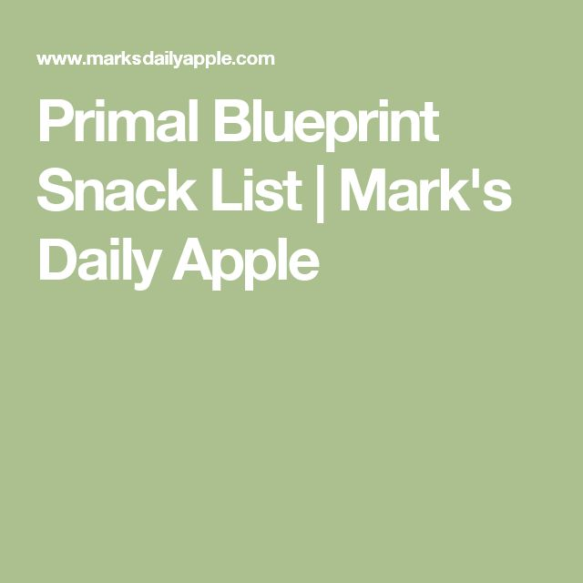 Primal Blueprint 30-Day Challenge Just what the trainers at my gym - fresh blueprint primal diet