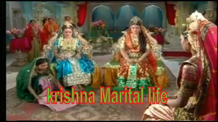 shree Krishna's wife | Rukmini | Satyabhama | Jambavati | ramanand sagar...