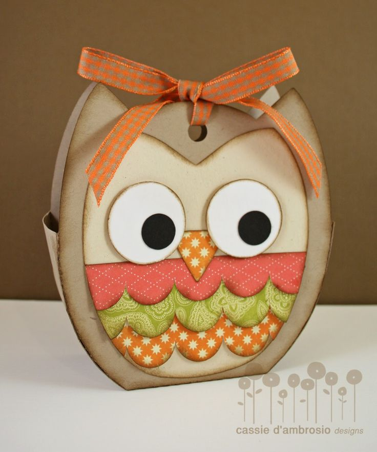 Silhouette file for the Owl Tote - bjl