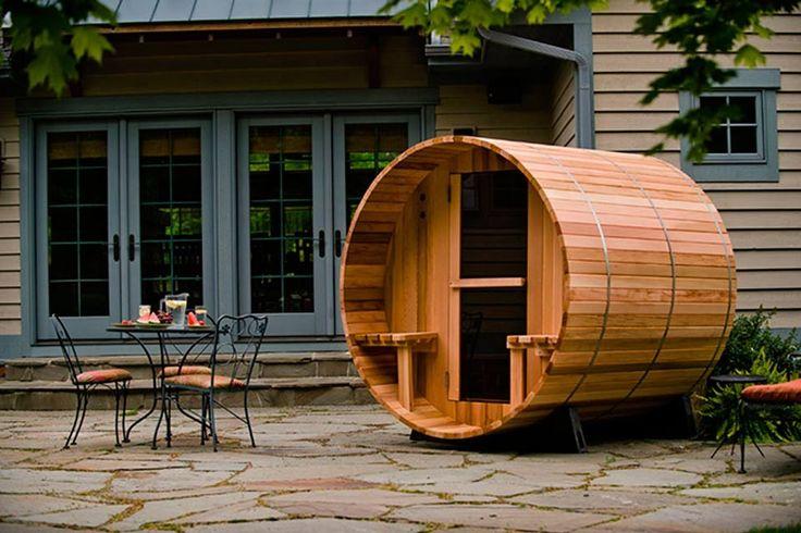 sauna in je tuin