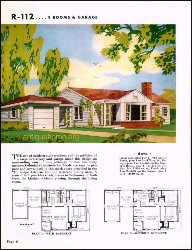 128 Best Images About Mid Century House Plans On Pinterest