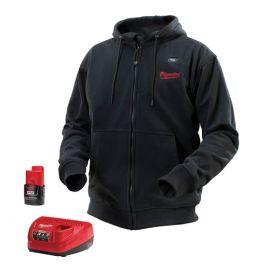 Milwaukee 2381, M12 Heated Hoodie Kit, Black - 2381 http://www.blackrocktools.com/milwaukee-m12-heated-hoodie-kit-black-2562.html