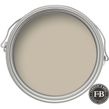 Farrow & Ball Estate Drop Cloth No 283 - Matt Emulsion Paint - 2.5L - kitchen and FR/main areas