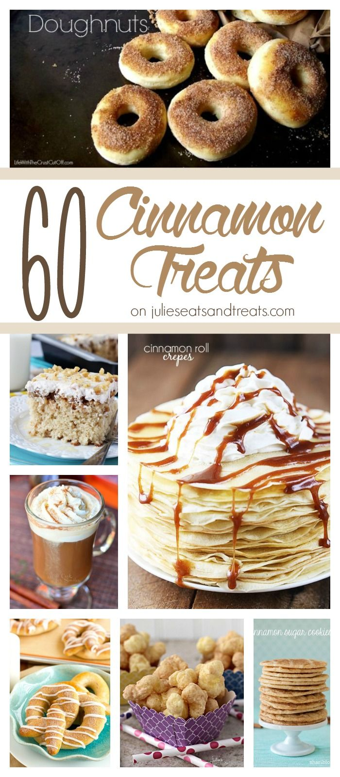 60 Recipes Using Cinnamon Rounded up for you in one place! If you are a cinnamon fanatic this is for you!