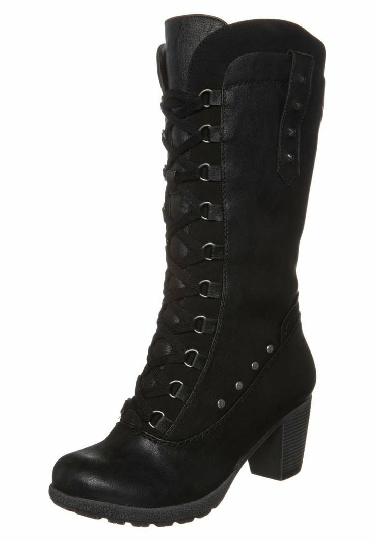 Rieker - Høje støvler/ Støvler - sortb $749