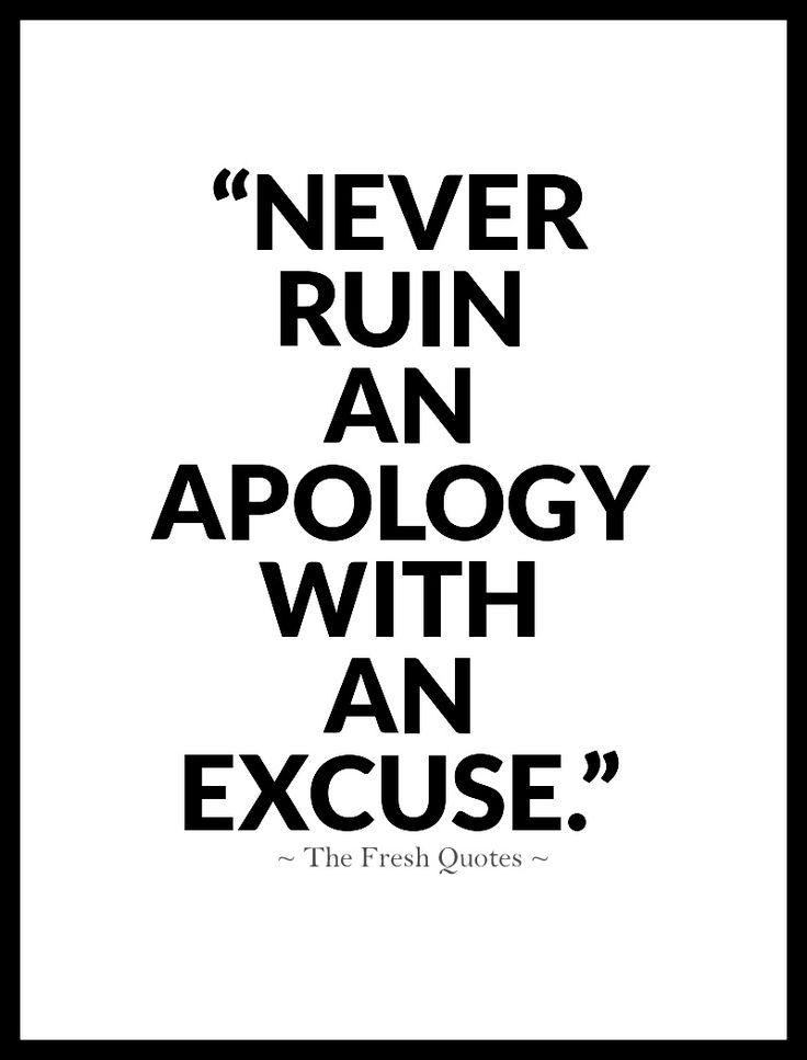 relationship apologies
