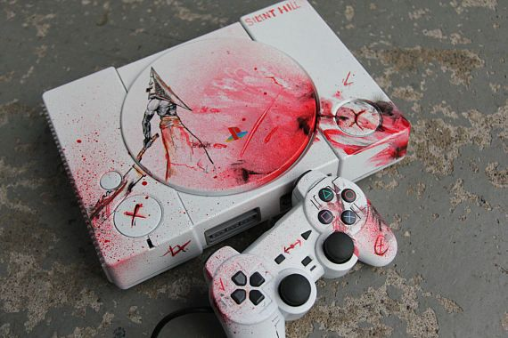 EXCLUSIVE Custom Console  Silent Hill inspired design