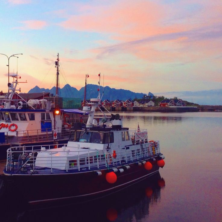 Lofoten Islands, Norway, sunset porn, midnight sun