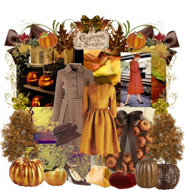 """""""Fall Decorations"""" by pinkfrosting2 ❤ liked on Polyvore"""