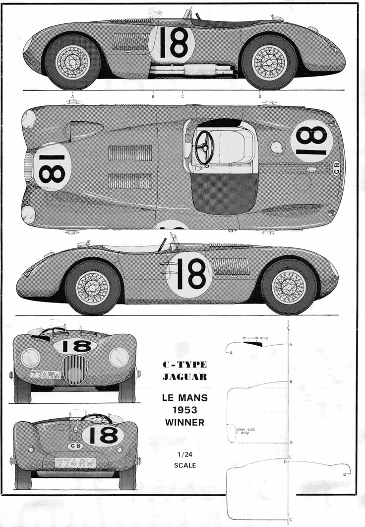805 best blueprints images on pinterest cars technical drawings jaguar xk120c c type 1951 smcars car blueprints forum malvernweather Images