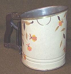 jewel tea flour sifter