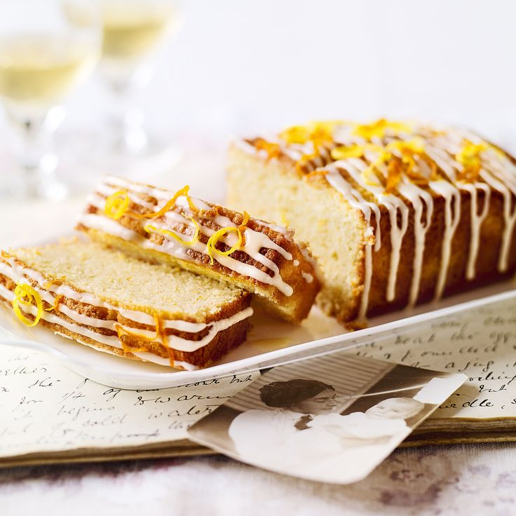 Jo Pratt's St Clement's Drizzle Cake, a delicious recipe in the new M&S app.